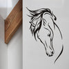 Horse Head Wall Decal