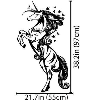 Unicorn Horse Nursery or Kids Room Wall Decal Sticker