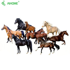 Horses Wall Stickers Decal