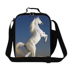 3D Horse Insulated Lunch Bag