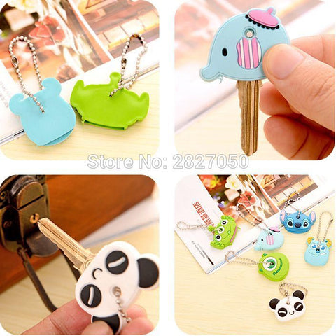 Cartoon Animal Silicone Key Covers