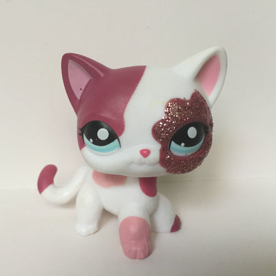 Pet Shop Style Cute Cat Doll Figure