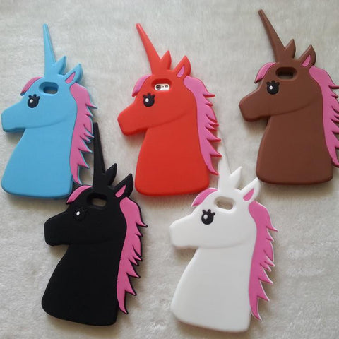 3D Unicorn Cover For iPhone
