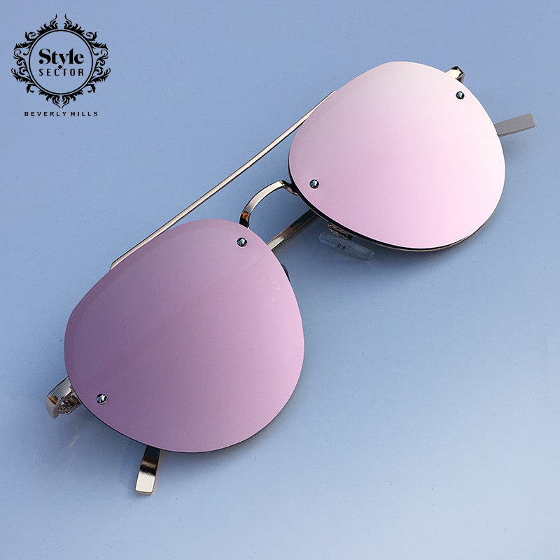 ALL PINK EVERYTHING COLLECTION (mirrored sunglasses)