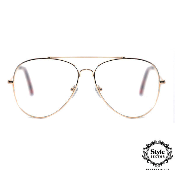 -AVANT ( Clear w/ Gold Frame)