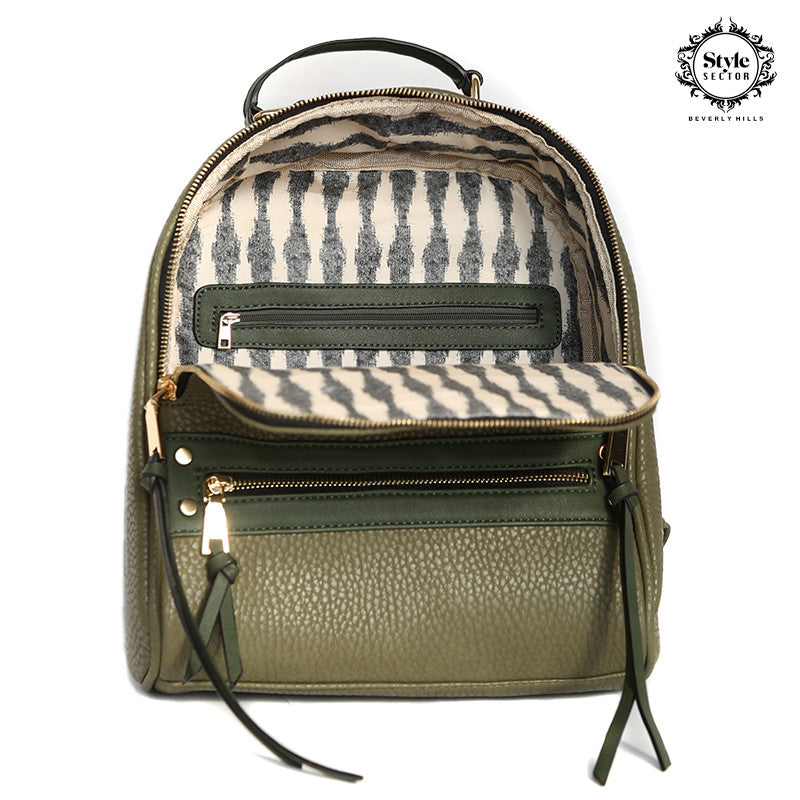 BACKPACK (Stylish & Trendy in Olive)