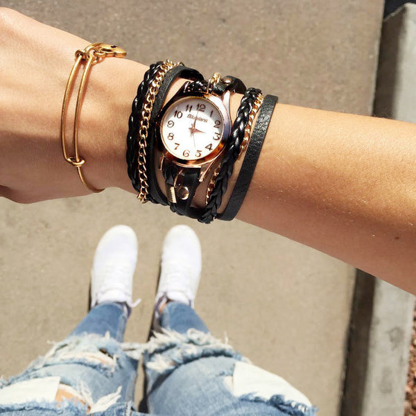 Stacked Bracelet Watch