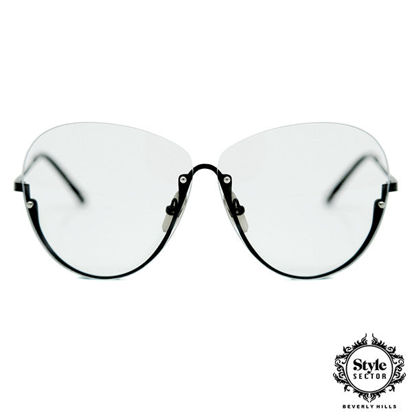 -VENICE (Clear w/ Black Frame)