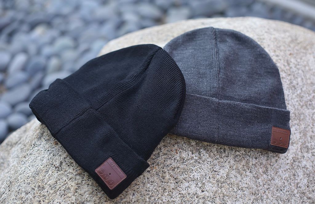 Bluetooth SIMPLEX BEANIE - Grey