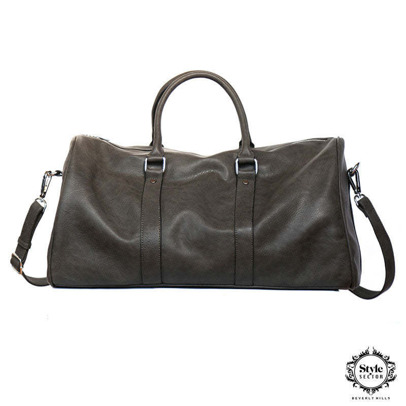 DUFFEL BAG (Charcoal Grey)