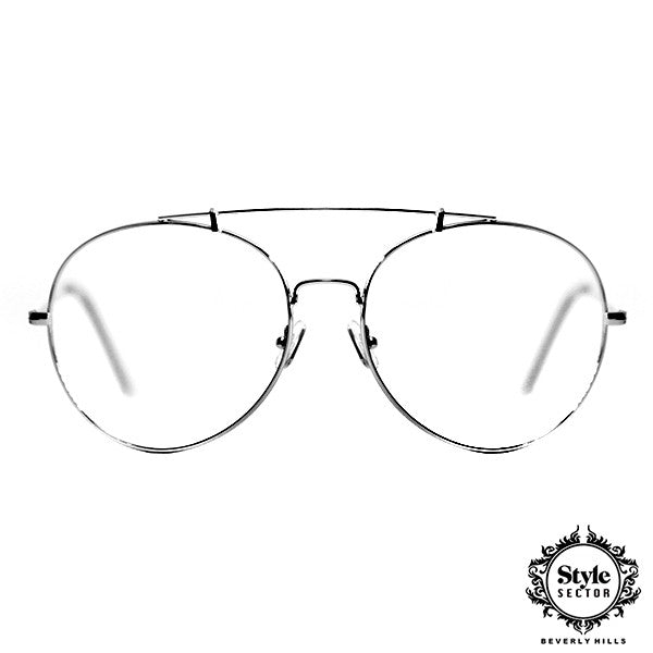 ENZO (Silver Frame Clear)