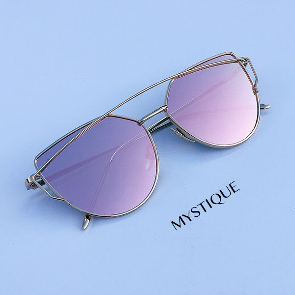 92f9bfb6db39 ALL PINK EVERYTHING COLLECTION (mirrored sunglasses) - StyleSector