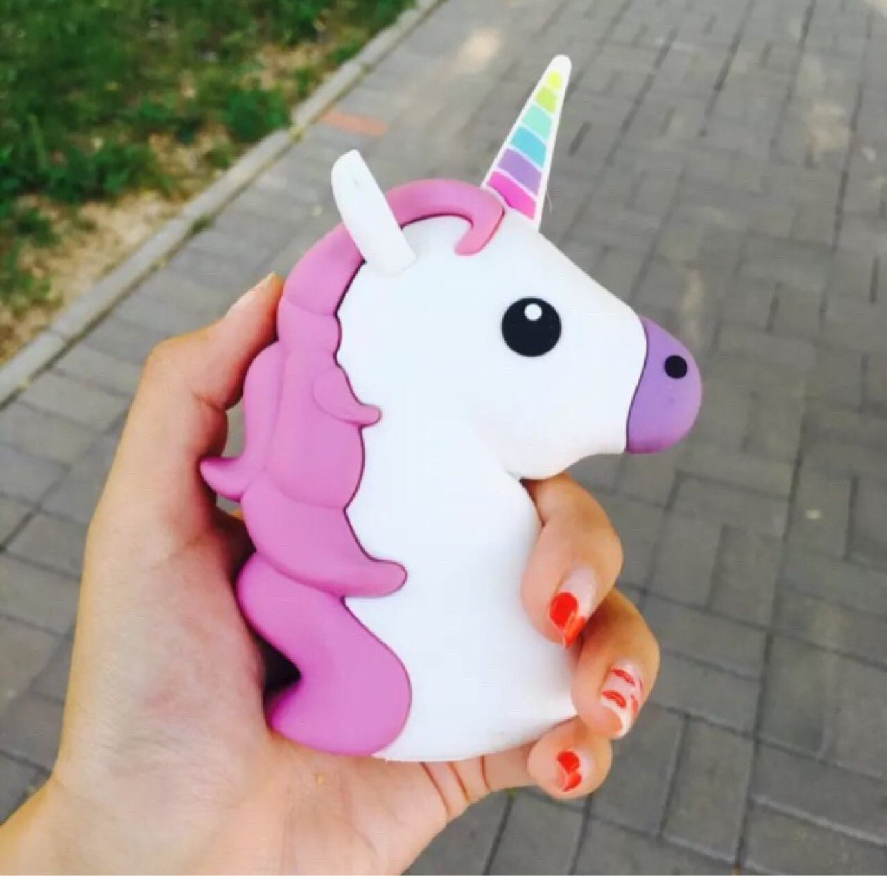 Emoji Unicorn Power-bank Charger - StyleSector 5a0fce0bd