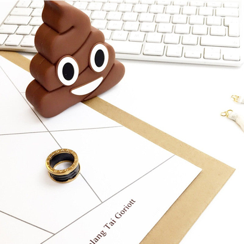 Emoji Poop Power-bank Charger