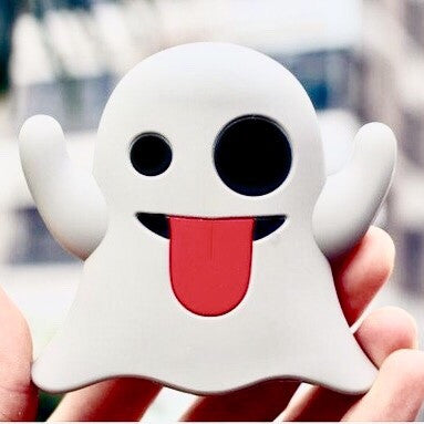 Emoji Snapchat Ghost Power-Bank Charger