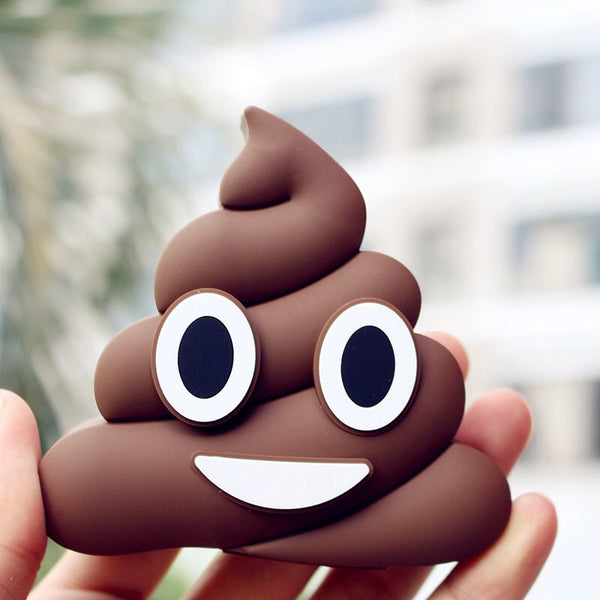 -Emoji Poop Power-bank Charger