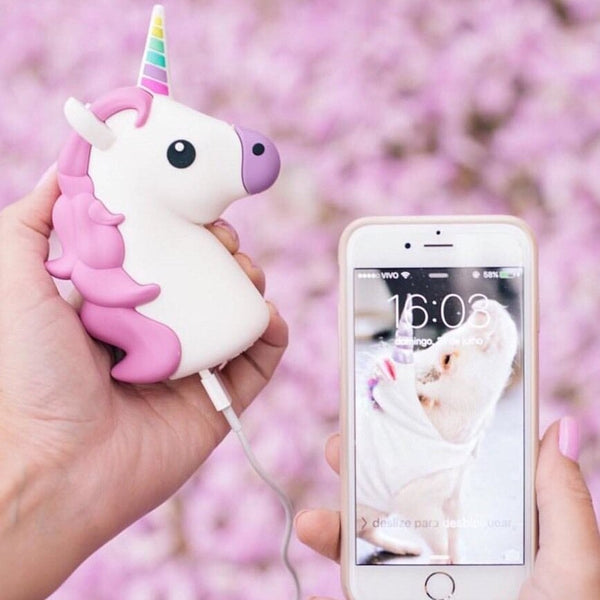 -Emoji Unicorn Power-bank Charger