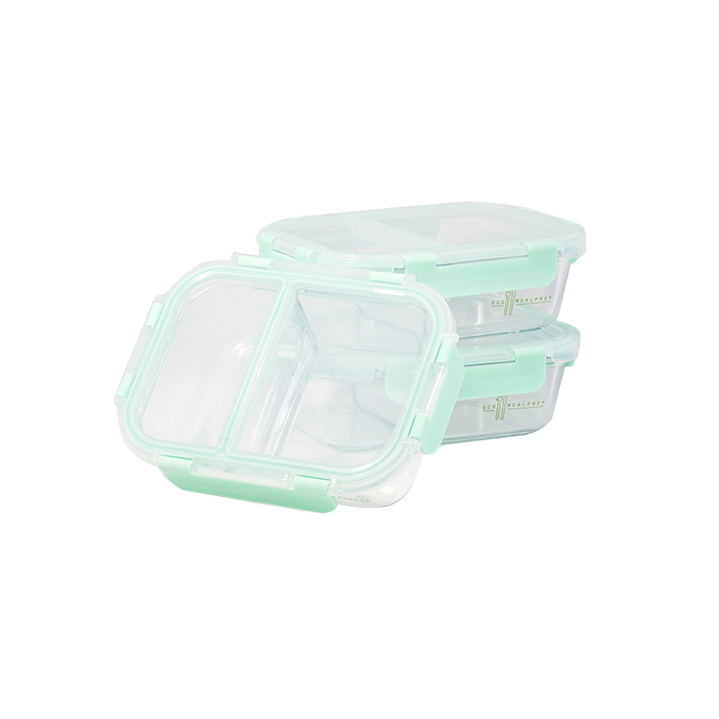 Bento Glass Snack Prep Container (3-Pack) - Eco Meal Prep