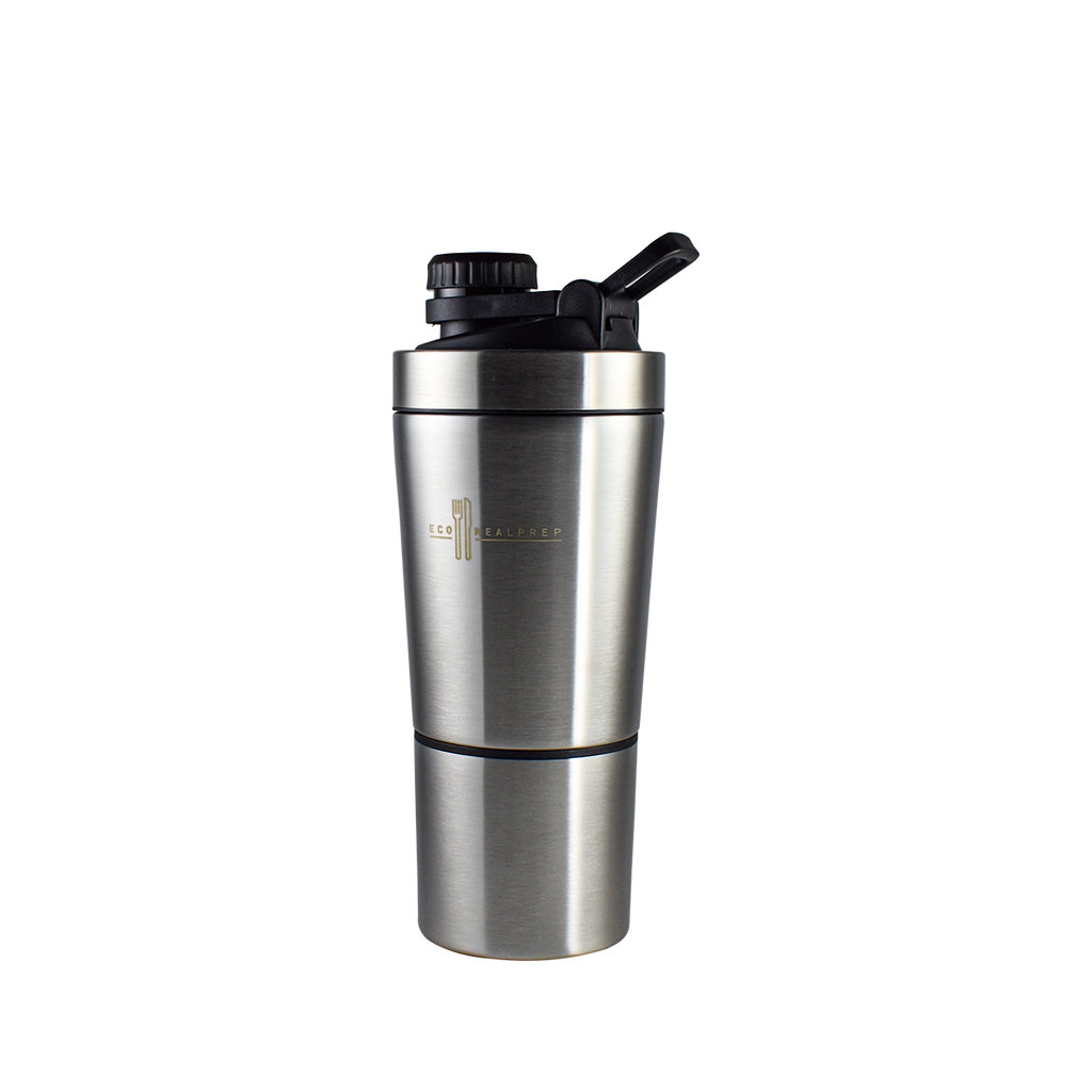 *NEW* Insulated Stainless Steel Protein Shaker - Eco Meal Prep