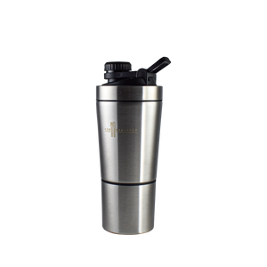 Insulated Stainless Steel Protein Shaker - Eco Meal Prep