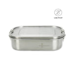 Leakproof Stainless Steel Lunch Box with Removable Divider - Eco Meal Prep