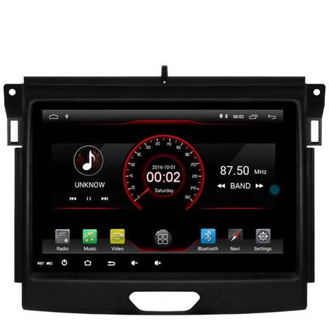 2016 FORD RANGER  9 inch Android 9.0 Radio
