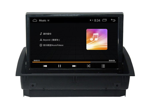 Android 4.4 Car Multimedia Player for Audi A3 2014 2016 with GPS Navigation Stereo DVD USB AUX SD WiFi 3G 4Core 1024*600 Map