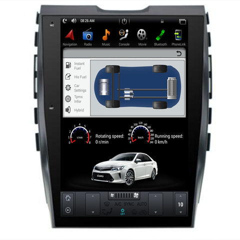 2015- 2019 For Ford Edge  Android 9.0 Vertical screen GPS Navigation