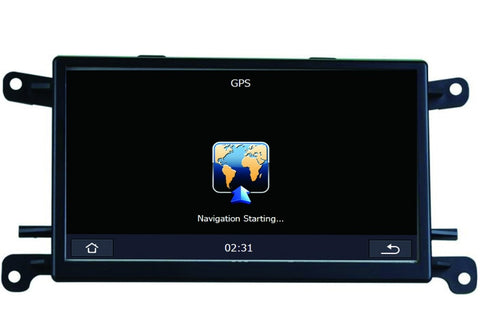 Car Multimedia Player GPS Navigation for Audi Q5 A5 A4 with USB SD AUX RCA Auto Audio Video Stereo