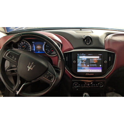 Maserati Ghibli 2014-2016 Apple/Android CarPlay