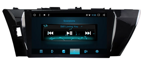 Octa Core Android 8.1 Car Video GPS For Toyota Corolla/Corolla Levin 2013 2016 with Radio BT AUX WIFI Stereo 2G+32GB