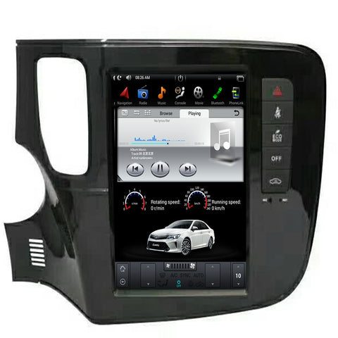 "Mitsubishi Outlander 10.4"" Touch Vertical Screen  Android 9.0 GPS"