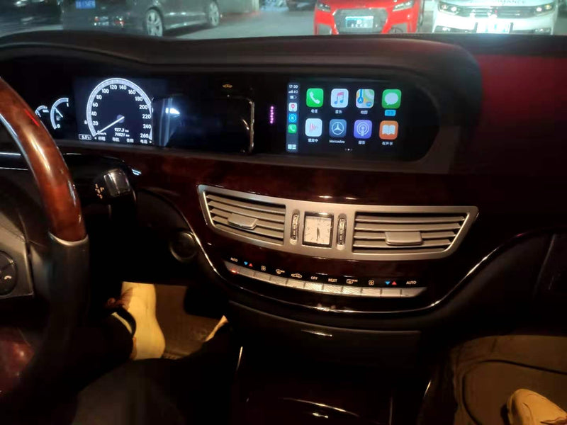 2007 Mercedes-Benz S Class S500 Coupe/Sedan WJME-3S  WIFI Wireless Apple CarPlay, AirPlay Android Auto Interface
