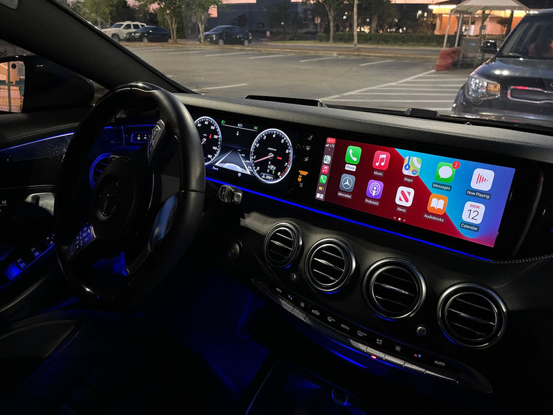 2014-2017 Mercedes-Benz S Class S550 Coupe/Sedan W222  WIFI Wireless Apple CarPlay, AirPlay Android Auto Interface