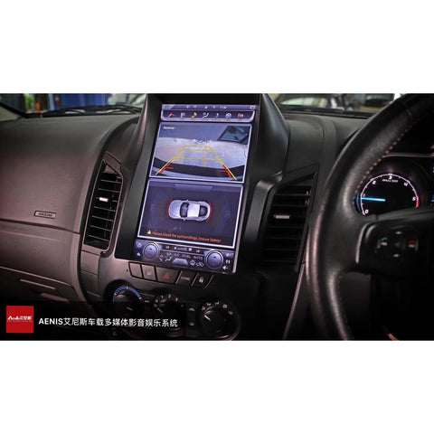 Ford Ranger 12.1 inch vertical screen dedicated Android navigation