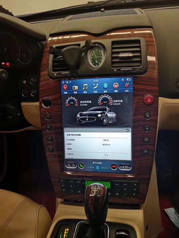 Maserati Quattroporte 2004-2011  Android Navigation - Android Navigation