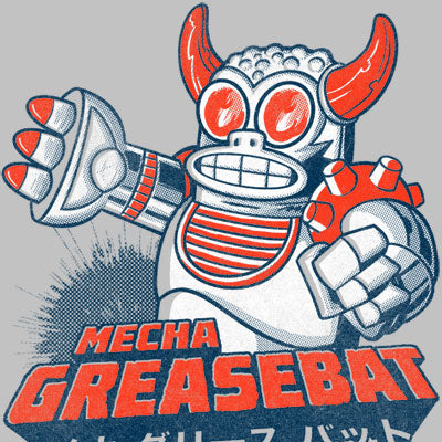 Mecha Greasebat - Mechanized Death Shirt