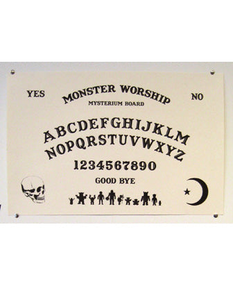 Monster Worship Mysterium Board Screen Print