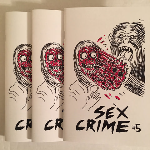 Sex Crime 5 - Johnny Ryan sketchbook blem