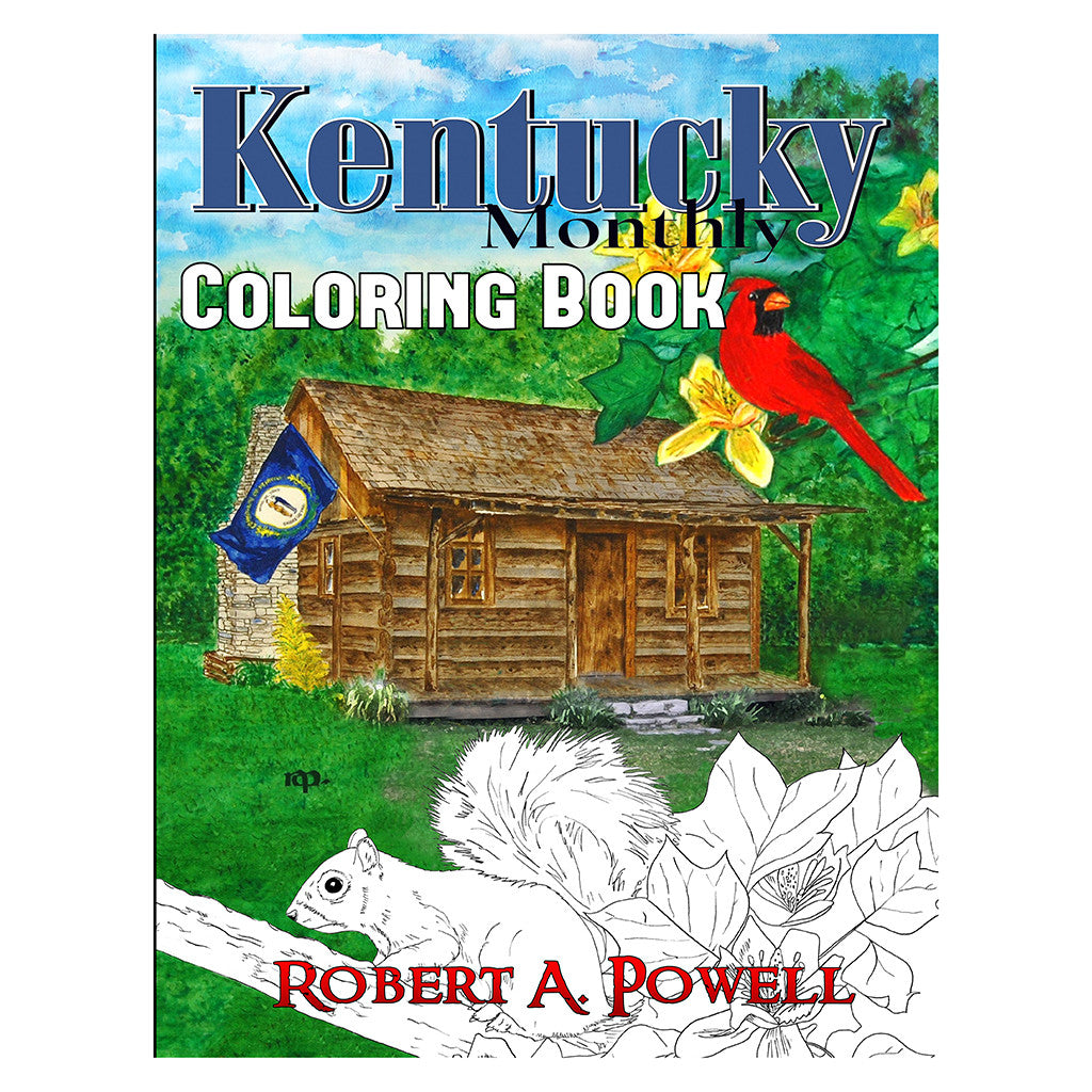 Kentucky Coloring Book