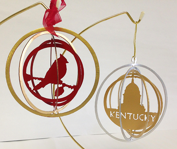 Kentucky Ornaments
