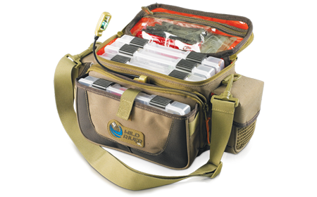 Wild River Mission Lighted Small Convertible Tackle Bag with 4 trays