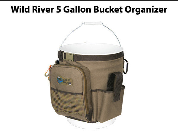 Wild River Rigger 5 Gallon Bucket Organizer - Accessories not included