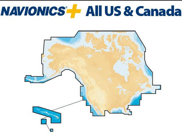 Navionics+ All US and Canada