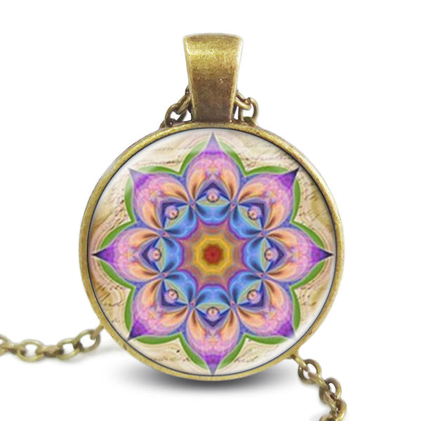 Ajna Flower Mandala Necklace