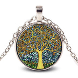 Tree Mosaic Necklace