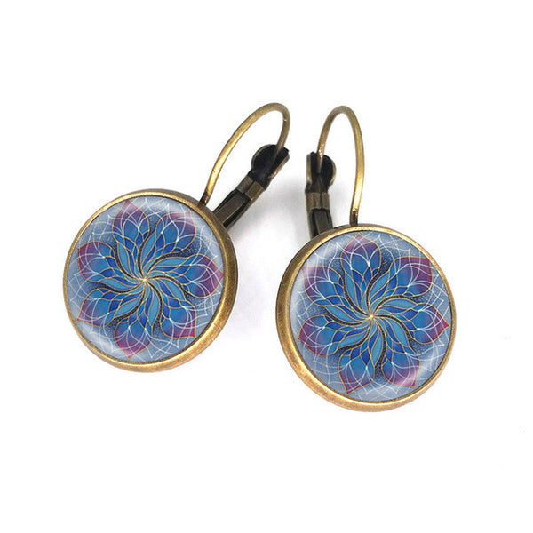 Medicine Flower Earrings