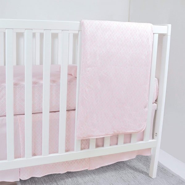Bamboo crib bedding - Diamonds