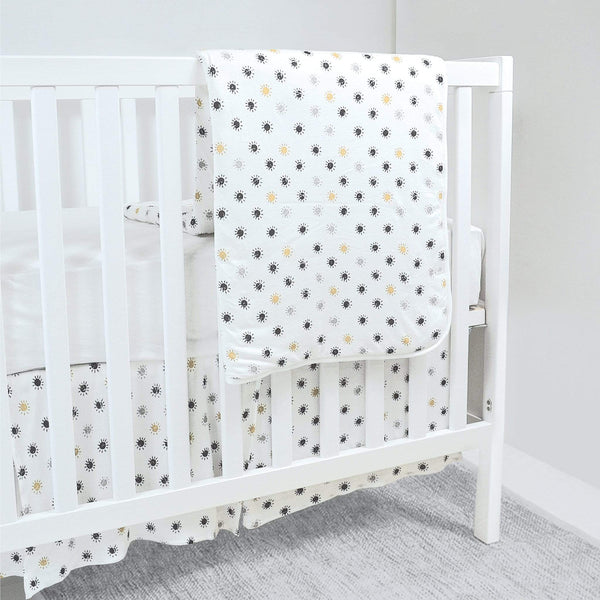 Bamboo crib bedding - Suns