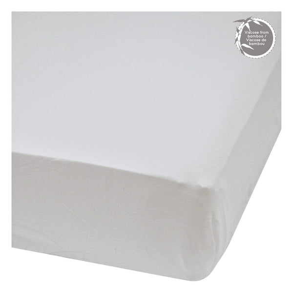 Bamboo fitted sheet - Souris